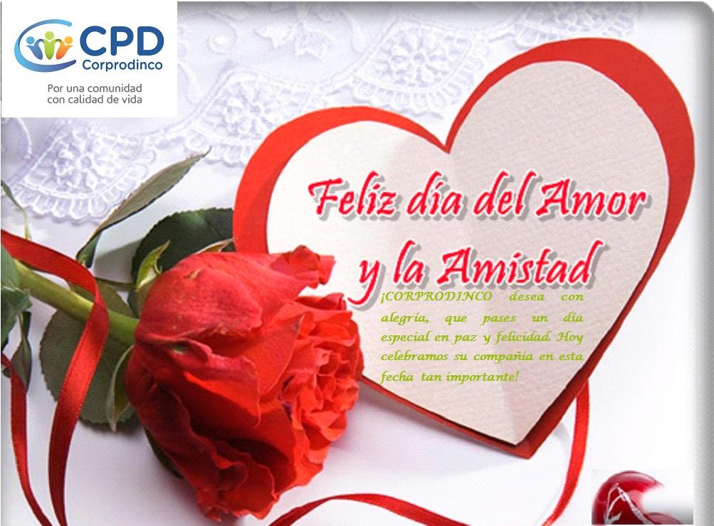Feliz Día de Amor y Amistad