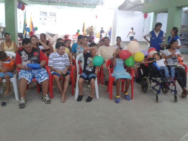 FERIA DE SERVICIOS SOCIALES PARA FAMILIAS DE RED UNIDOS EN EL MUNICIPIO DE SAN PABLO, BOLÍVAR.