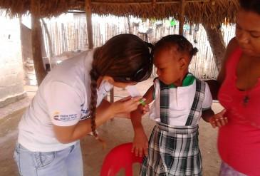 Cogestores Sociales de Red Unidos realizan tamizaje en atención y detección de desnutrición en el Magdalena Medio