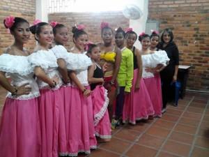 grupo de danza externado
