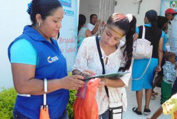 Brigada de Salud fue realizada para niños, niñas y madres gestantes de Red Unidos
