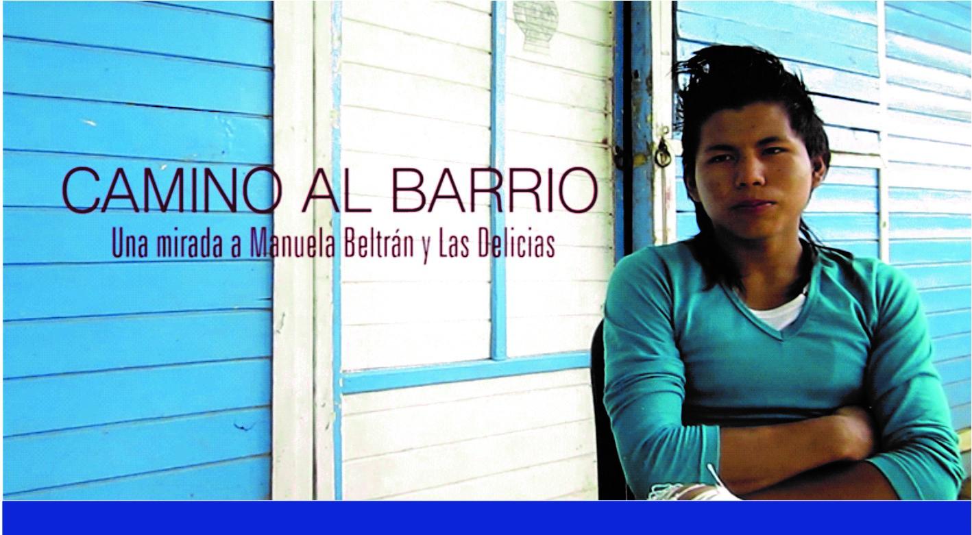 INVITACIÓN LANZAMIENTO DOCUMENTAL CAMINO AL BARRIO