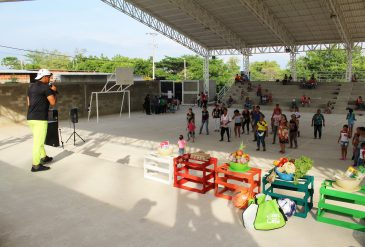 Jornada de Hábitos saludables en Familia en el municipio El Zulia
