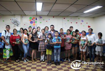 Encuentro Formativo de lectura por el Escritor Orlando Cuellar Castaño a los NNA de la Modalidad Externado
