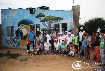 Visita de la embajada de Corea al proyecto Rumbos de Paz