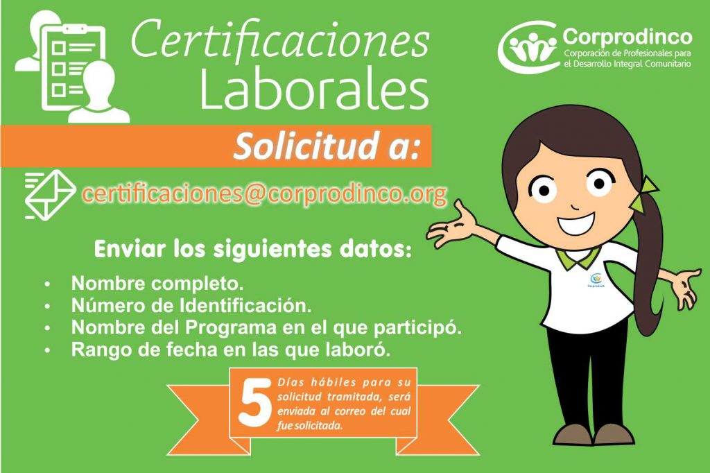 Diseño certificaciones Talento Humano