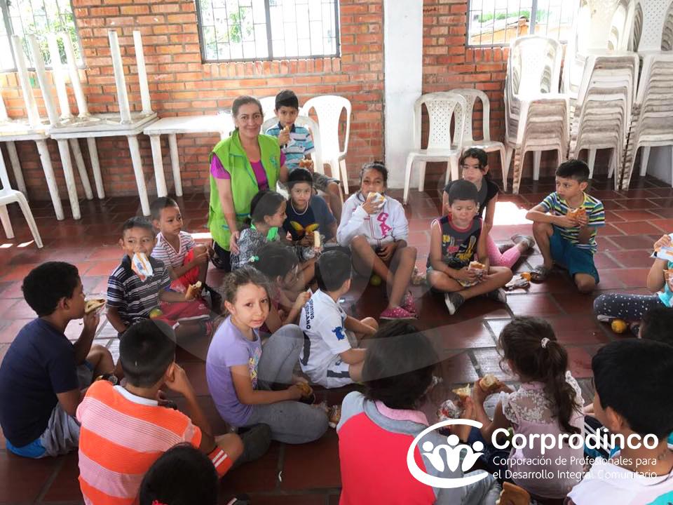Promoción de Derechos Humanos con los NNA de la Modalidad Generaciones con Bienestar, municipio Bucaramanga