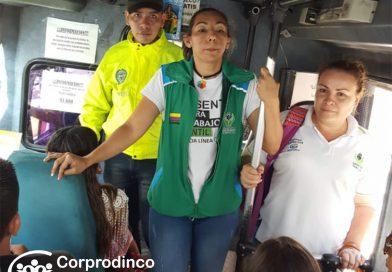 En las calles, Agentes Educativos fortalecen la estrategia de Prevención del Trabajo Infantil