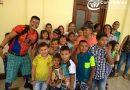 Nuestros niños, niñas y adolescentes participan de la celebración que realizó la Gobernación de Santander