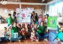 Los niños, niñas y adolescentes de Generaciones con Bienestar le sacan tarjeta roja al Ciberbullyng en el municipio de Ábrego