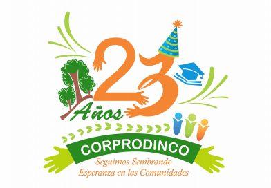 23 años Corprodinco, Seguimos sembrando esperanza en las comunidades