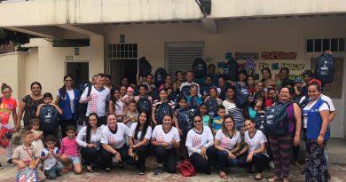 Las Familias de la Modalidad Externado reciben kits familiares por parte de la Fundación Plan, Fundación Bolivar y Davivienda