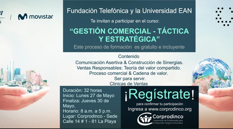CURSO GESTIÓN COMERCIAL TÁCTICA Y ESTRATÉGICA