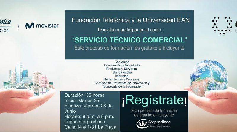 Telefonica_invitacion Servicio Tecnico Comercial