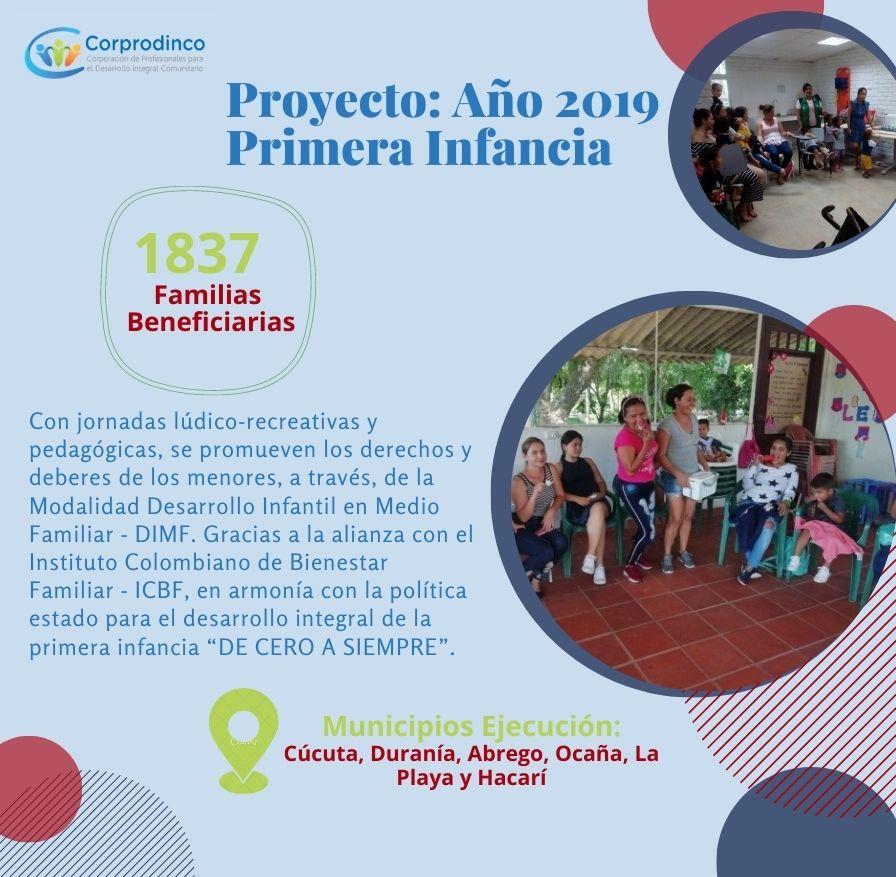 Proyecto: Primera Infancia – Año 2019