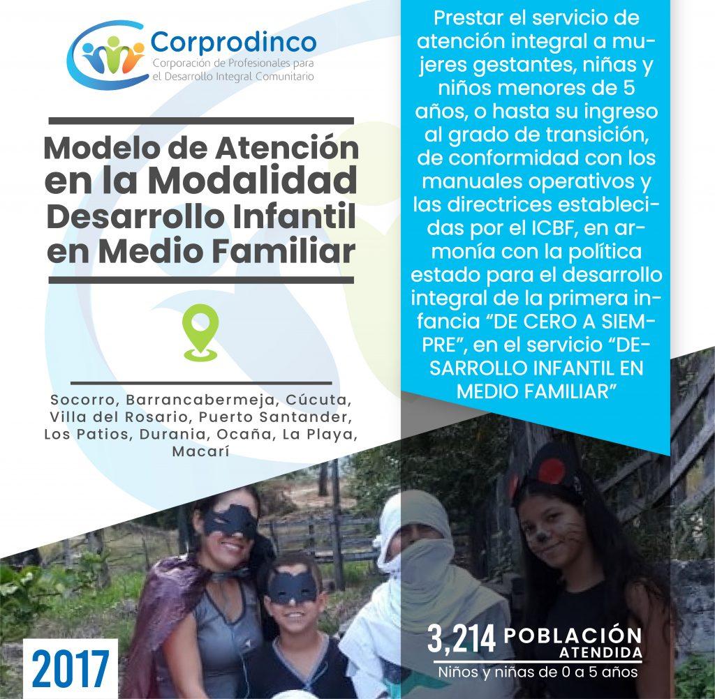 PROYECTO PRIMERA INFANCIA AÑO 2017